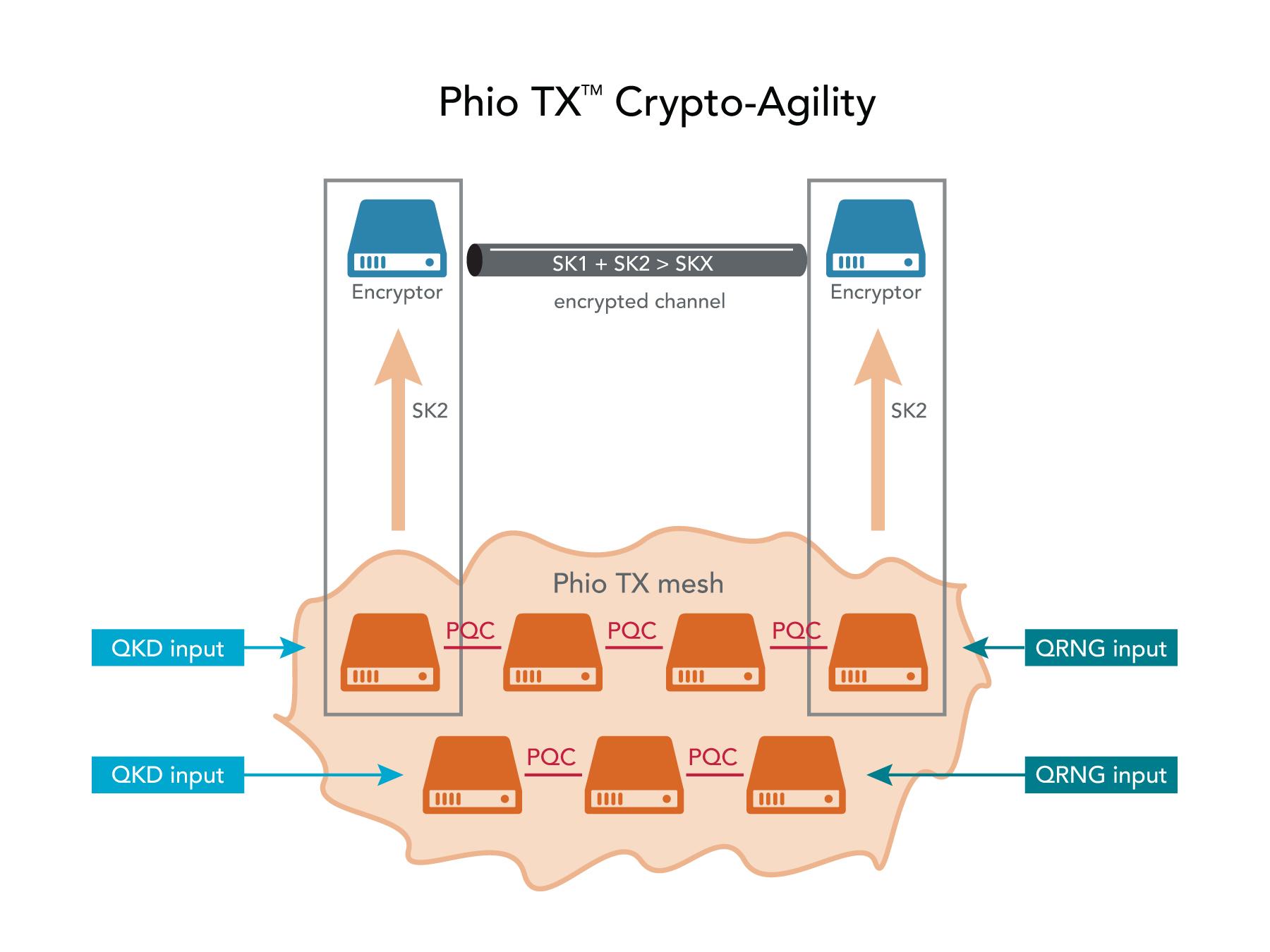 Phio TX Crypto-agility