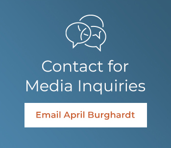 Contact April Burghardt for Media Inquiries